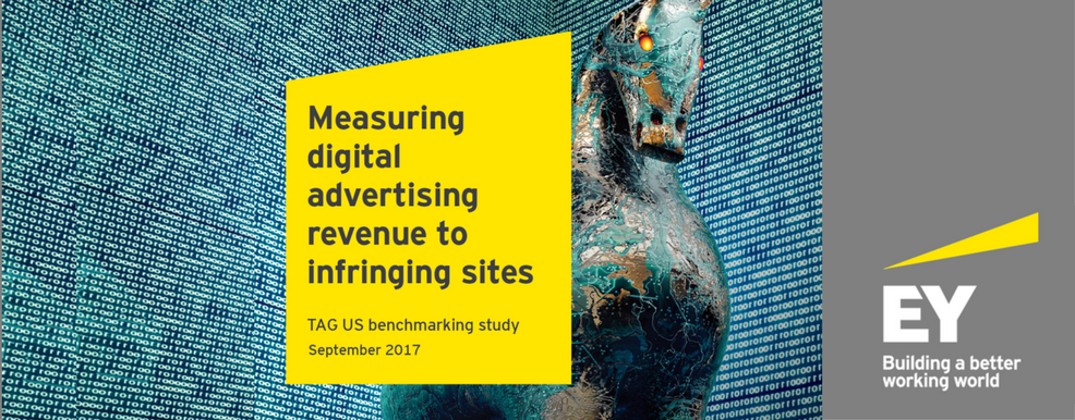 STUDY SHOWS AD INDUSTRY ANTI-PIRACY EFFORTS HAVE CUT PIRATE AD REVENUE IN HALF